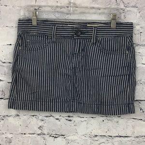 GAP Striped Mini Skirt 09200